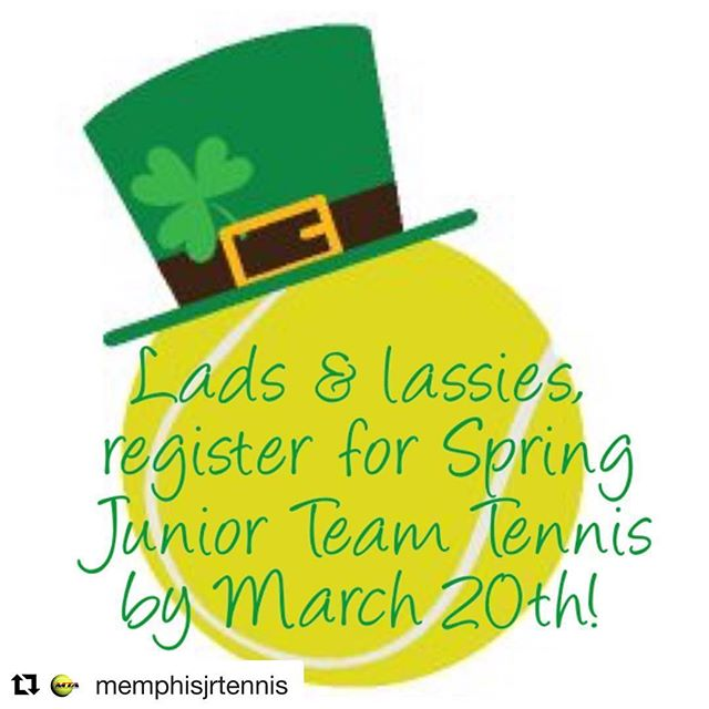 Visit www.memphisjrtennis.org for more information and to find registration links!